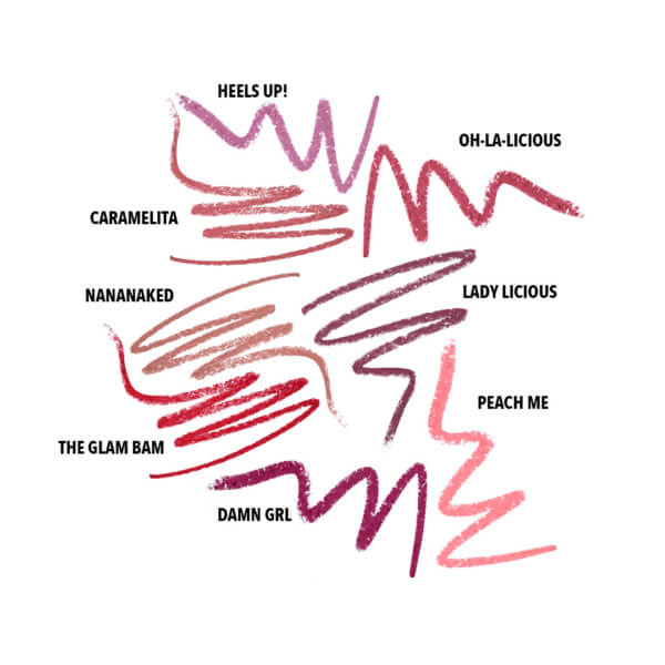 Lip Liner Collection Swatches 11